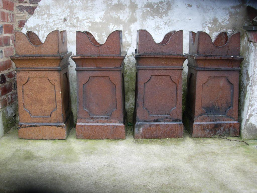 Chimney pots from Somerville Dawson Sheffield