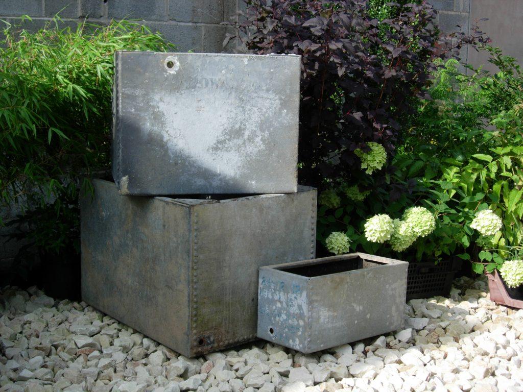 Galvanised Tanks from Somerville Dawson Sheffield