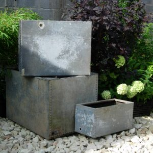 Galvanised Tanks from Somerville Dawson Sheffield