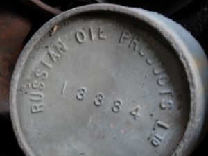 Oil drum lid from Somerville Dawson Sheffield