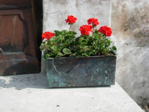 Copper Planter from Somerville Dawson Sheffield